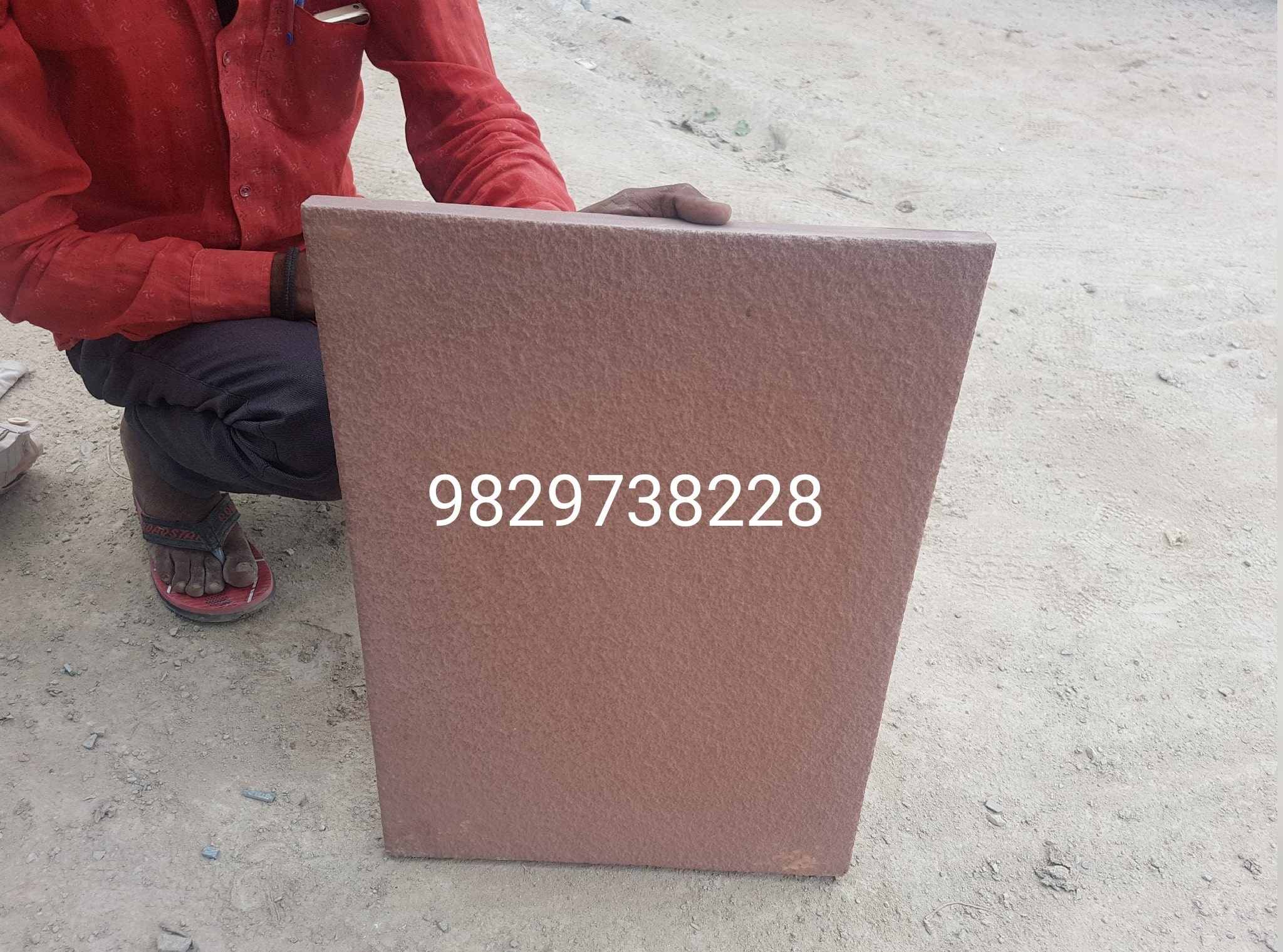 leather finished mandana stone
