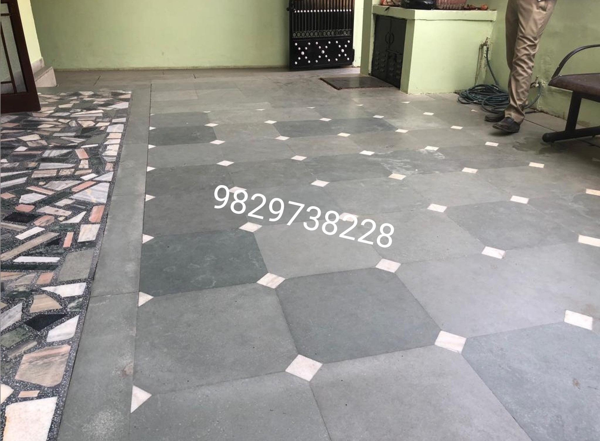 Kota Stone stone flooring design | Kota stone flooring ...