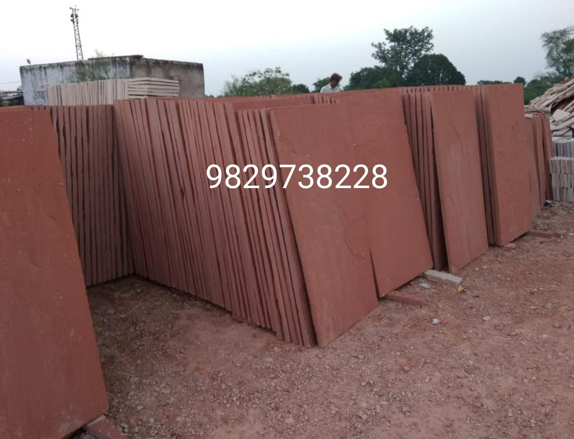 Red sandstone price