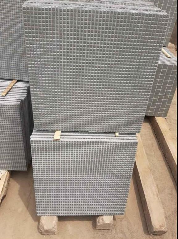 kota stone in checks polished